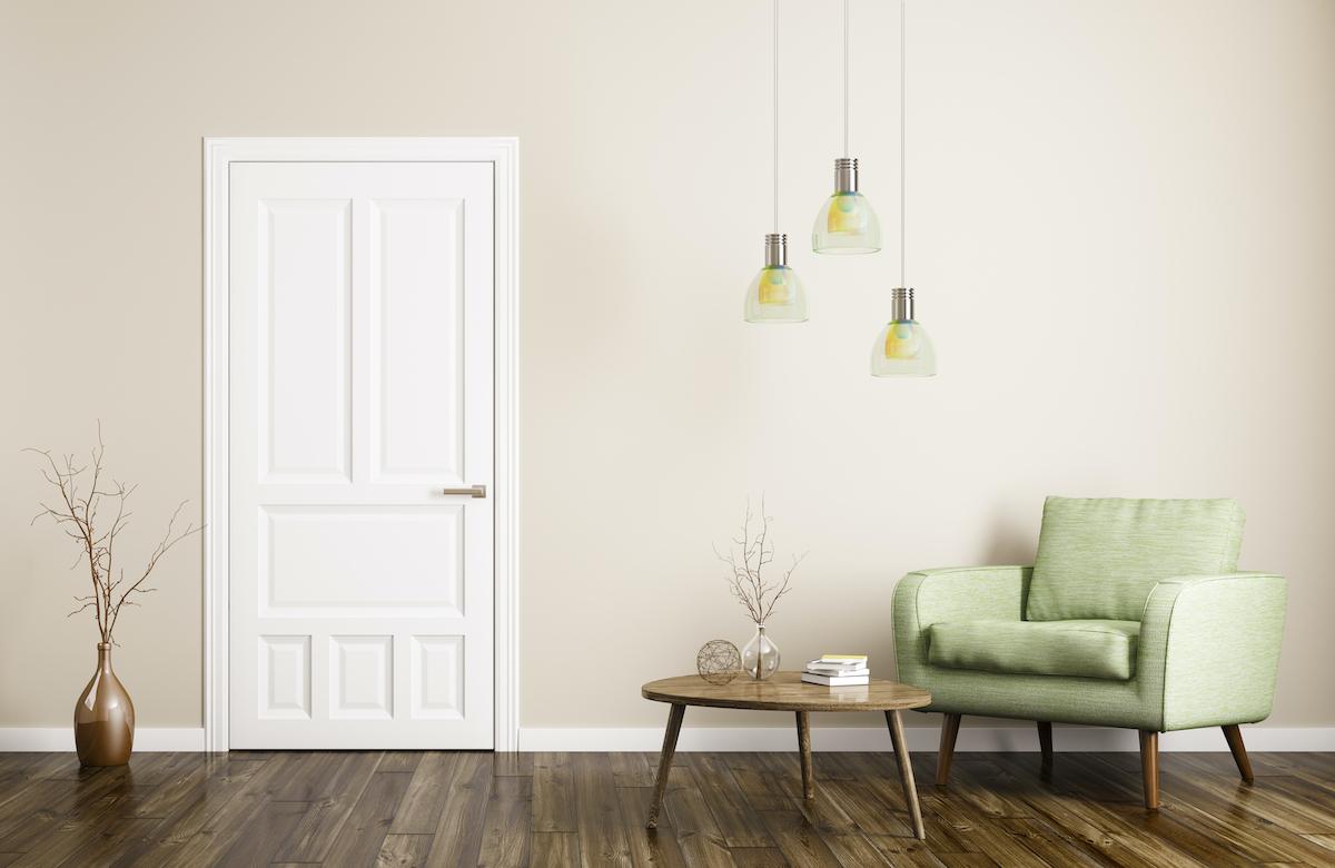 minimalistic indoor space