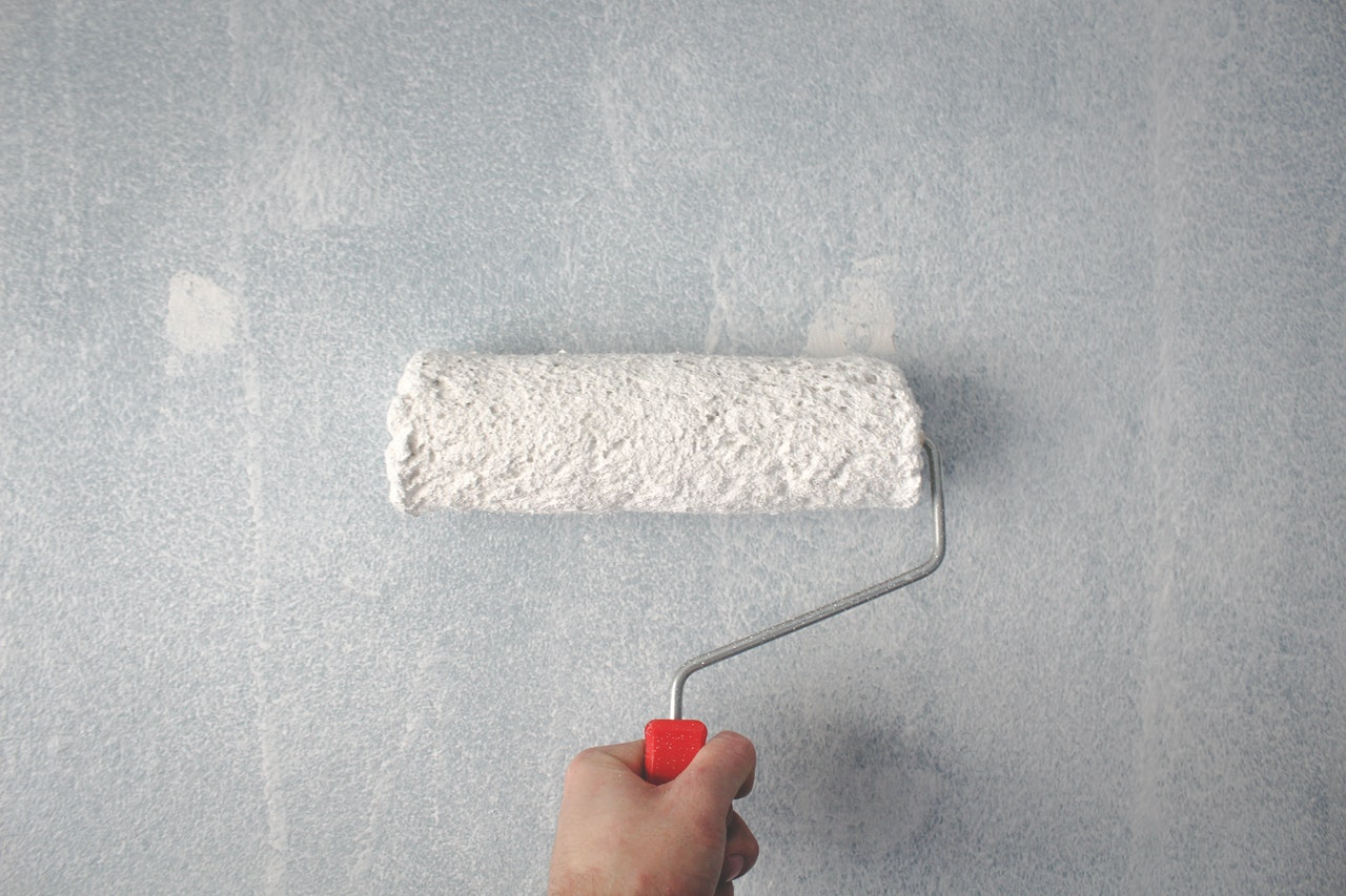 re-painting wall