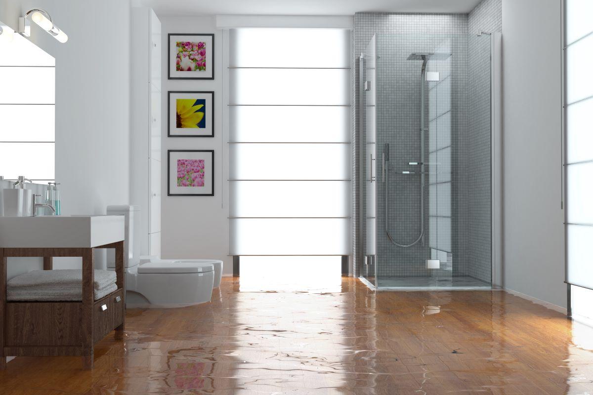 bathroom flooding