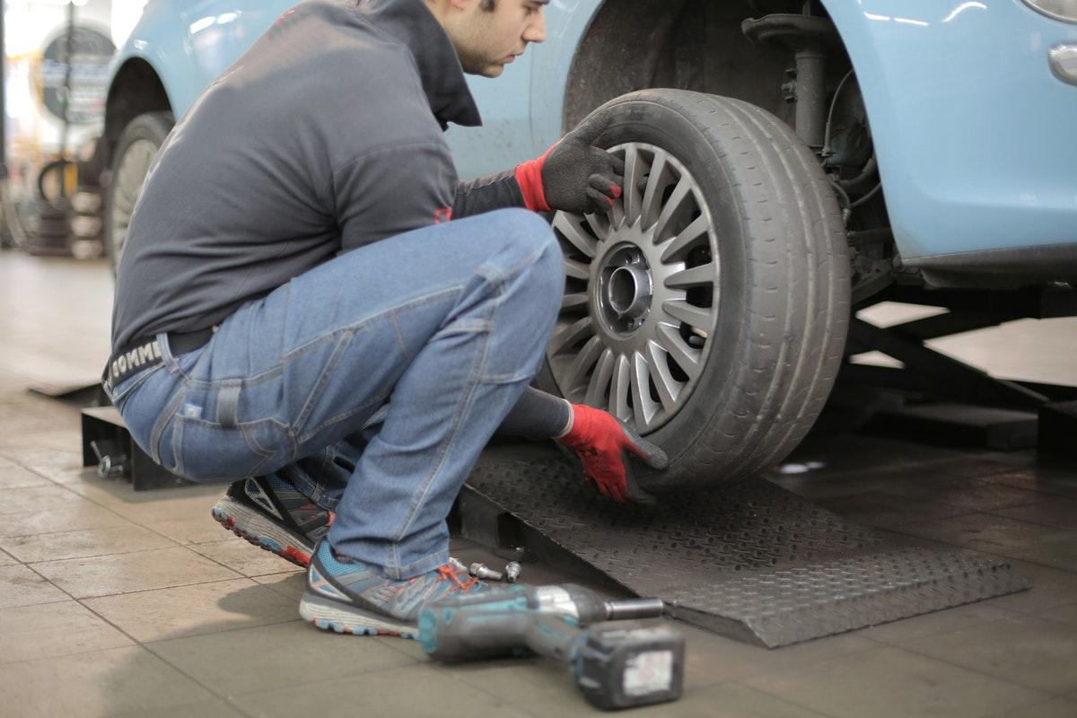 replacing tires