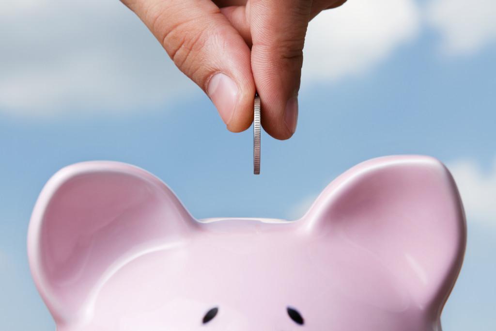 saving up coins
